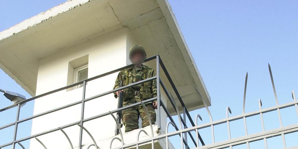 στρατιώτης να γαντζώ